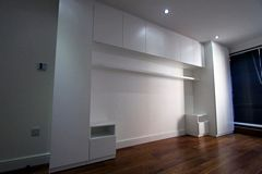 3d white bedroom fitted wardrobe