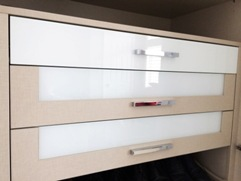 Glass Drawer Fronts