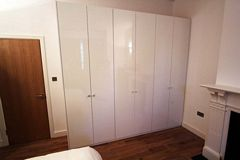 Acrylic Fitted Wardrobes