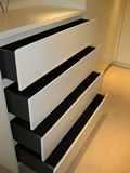 White Lacquered Chest of Drawers