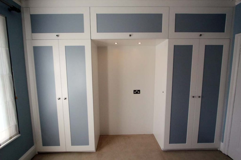 Bedroom wardrobes made to measure wardrobes with dark interior finish