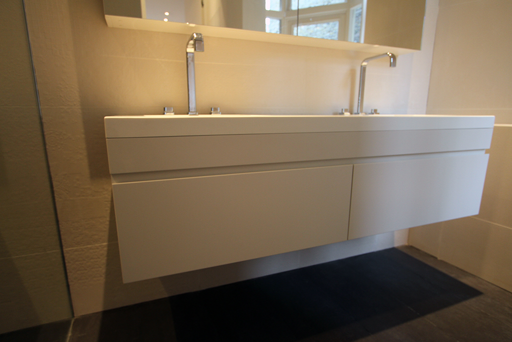 Book of bespoke bathroom furniture in ireland by liam for Bathroom design companies london