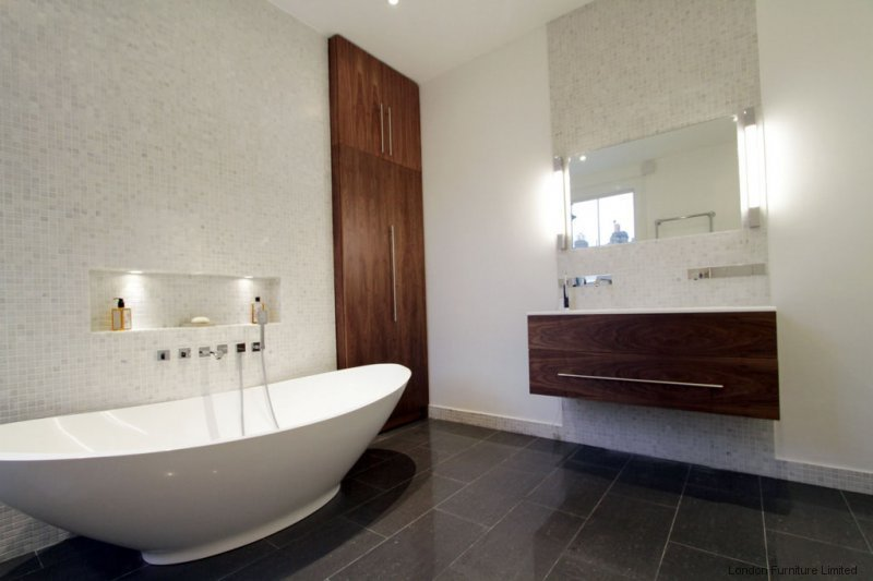 Fitted bathroom furniture in london bespoke bathroom for Furniture ideas for bathroom