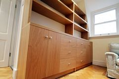 Oak Fitted Bookcases