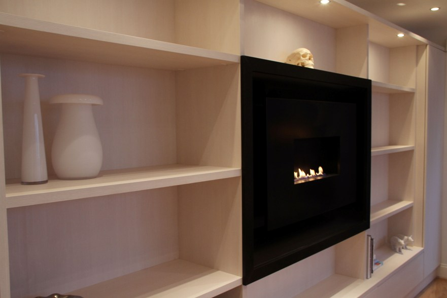 Fitted Home Office Furniture London Bespoke Fitted Bookcases