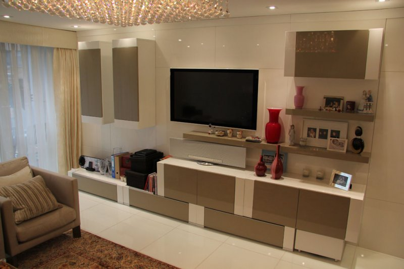 Fitted Living Room Furniture London | Bespoke TV Unit